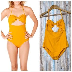 New Marysia M Antibes Maillot One Piece Papaya